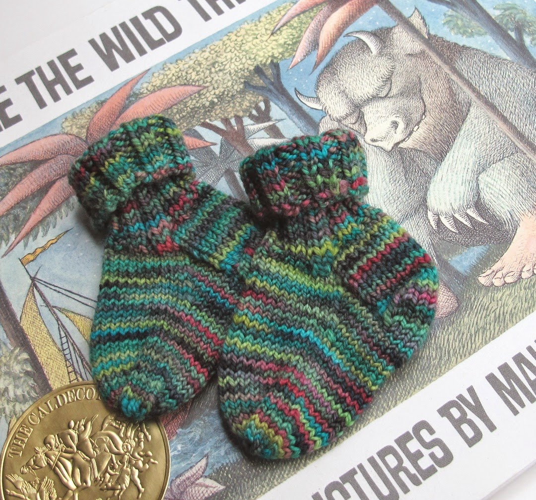 Kate Atherley Knits. A Lot. Mainly Socks.: Baby Sock Pattern: Free!