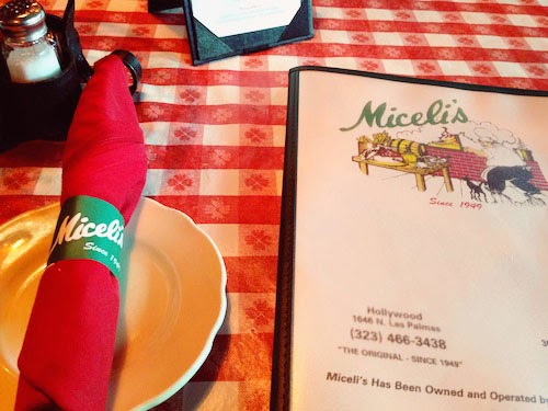 Miceli's Italian Restaurant in Hollywood from Dexter