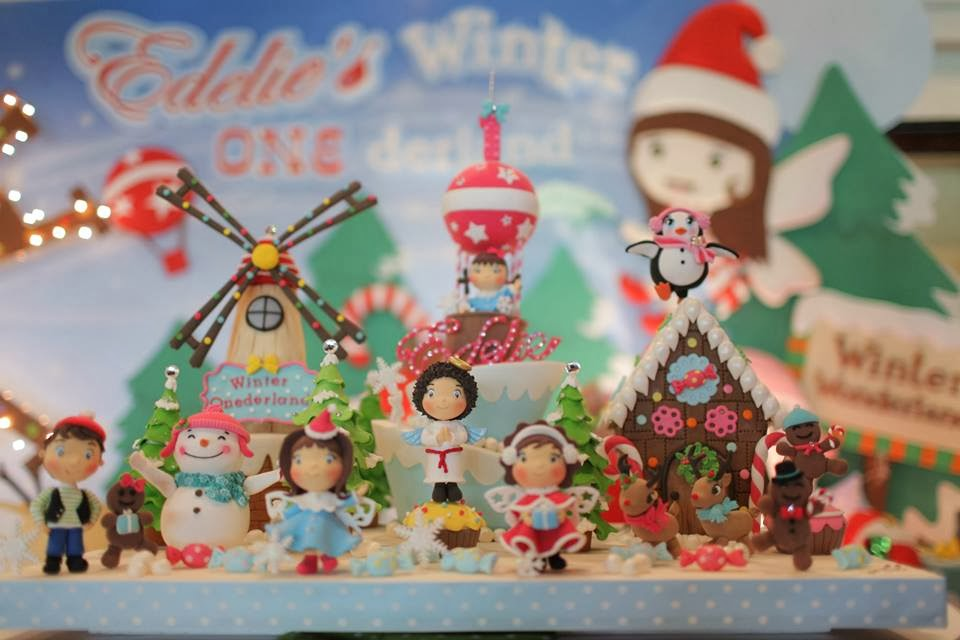 Christmas Themed Birthday Party Ideas Part - 50: Christmas Themed 1st Onederland Birthday - A First Christmas Wished Themed  Party By Dreamflavours Celebrations Party And Favors