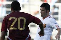 david villa marca el gol