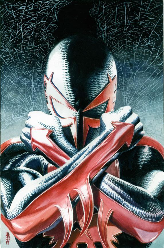 ORGENES Quin es SPIDERMAN 2099  Comicrtico