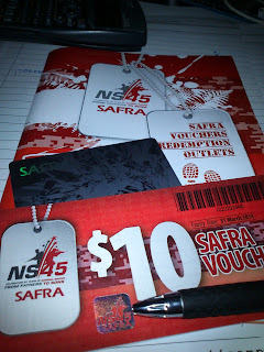 Free SAFRA Voucher and Card