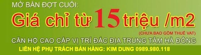 Chung cư Hud3 Tower -121 Tô Hiệu , Hà Đông - HN