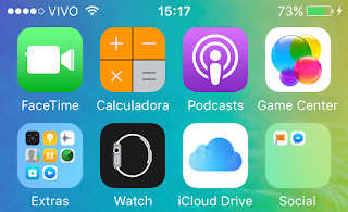 Novo ícone do Podcasts no iOS 9 beta 2