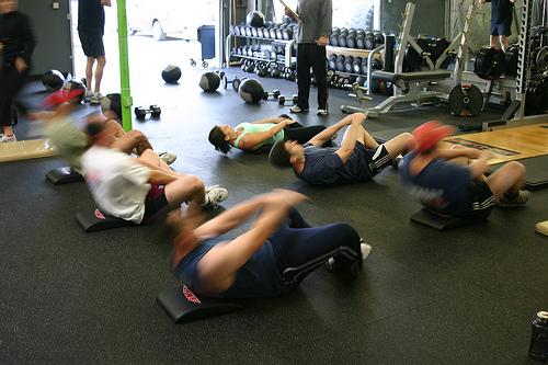 tight hip flexors or hamstrings