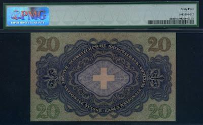 Switzerland 20 Franken
