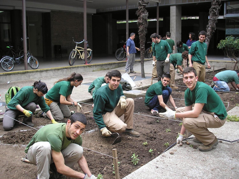 Escuela de jardiner a joaqu n romero murube arreglo de for Escuelas de jardineria en barcelona