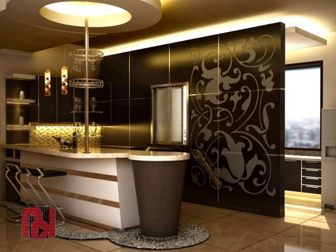 innenarchitektur design: Haus-bar Design