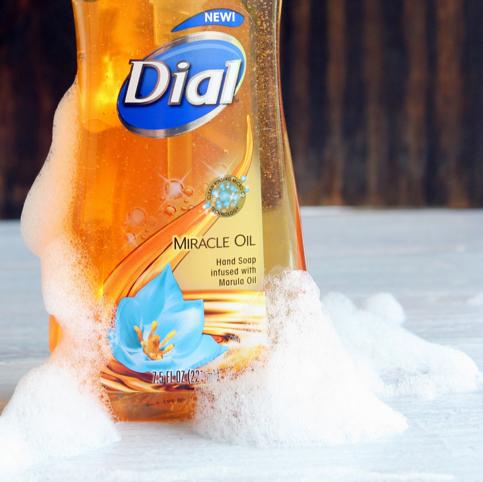 Dial Miracle Oil hand soap with marula oil