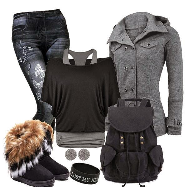 Three Black Outfits For Winters