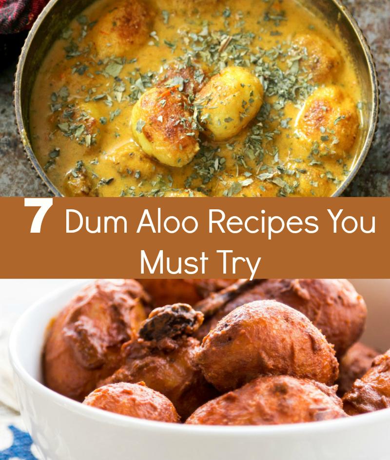 Merry Tummy: Dum Aloo Recipes: 7 Dum Aloo Styles