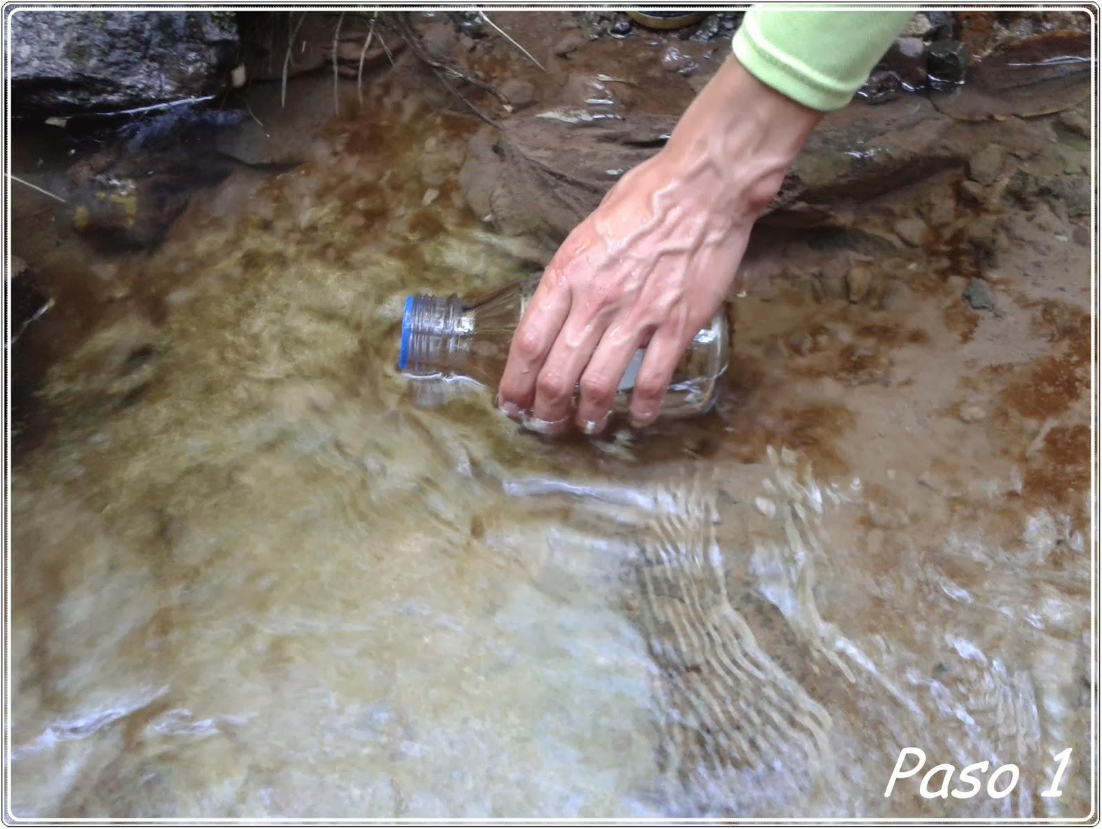 Toma de muestras de aguas blse for Toma de agua