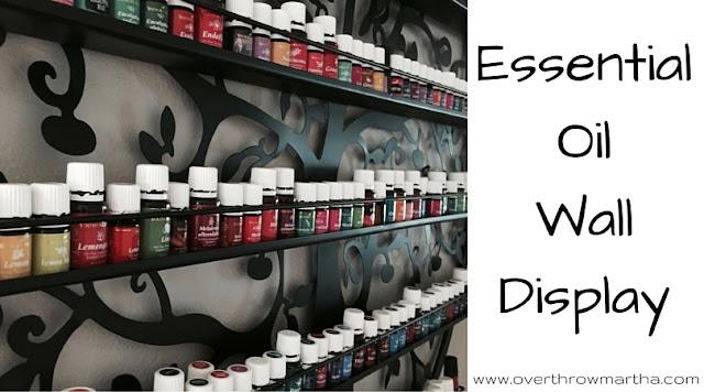essential oil display and storage. #essentialoils #yleo
