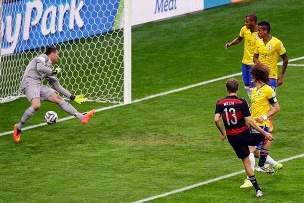 Brasil Kalah 7-1