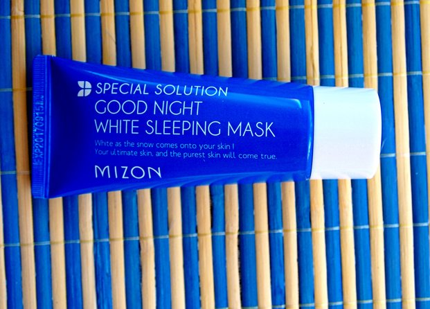 White Sleeping Mask de Mizon