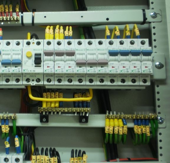 Electrical Installations: DB wiring identification ferrules