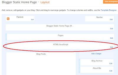 Image slider HTML layout