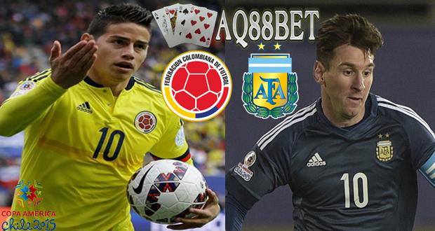 Agen Piala Eropa - Kompetisi Copa America 2015 semakin memanas. Laga babak perempat final pun akan menyajikan salah satu derby Amerika Selatan ketika Tim nasional Argentina menghadapi Kolombia pada hari Jumat, 26 Juni 2015 atau Sabtu pagi WIB.