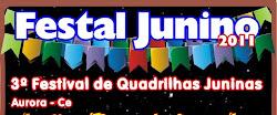 Dia 29 de Junho - III Festa Junino
