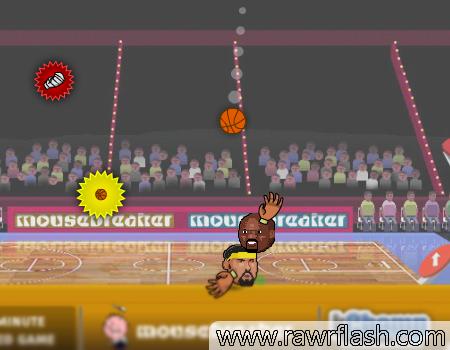 Jogos de esporte, basquete: Basquete em 2D