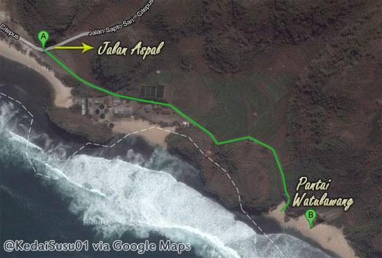 pantai watulawang gunungkidul jogja