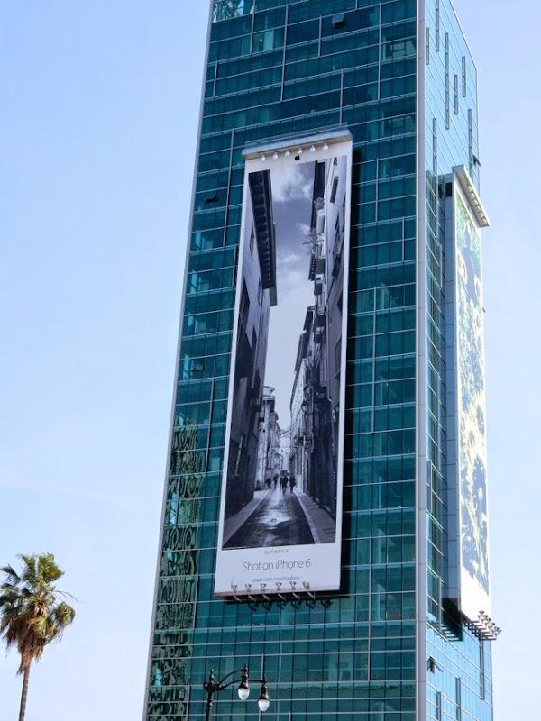 Shot on iPhone 6 Fredric K billboard