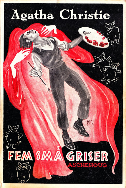 Agatha Christie - Fem små griser - Aschehoug 1952