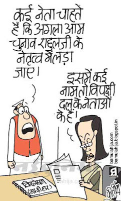 rahul gandhi cartoon, sonia gandhi cartoon, congress cartoon, bjp cartoon, indian political cartoon