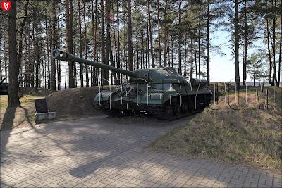 Станьково. Музей военной техники. Тяжелый танк ИС-3