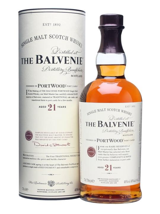 百富21年 單一麥芽蘇格蘭威士忌 Balvenie
