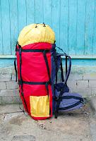 легкий самодельный рюкзак