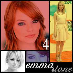 20 Hottest Girls Ever (Part II): 4. Emma Stone
