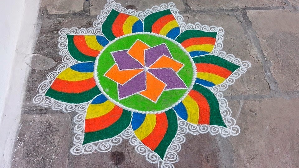 Easy Rangoli Designs. 30 Rangoli Designs for all Occasions