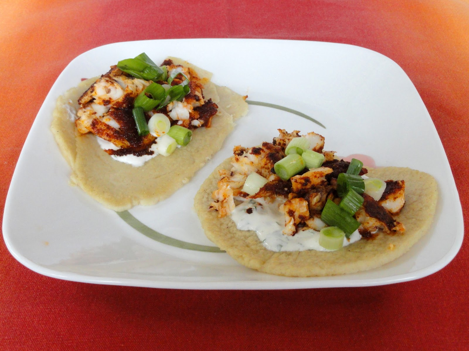 Blackened Tilapia Tacos with Cilantro Lime Sauce are tasty and fresh ...