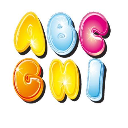 Dibujos letras colores para recortar - Dibujos en colores para imprimir ...