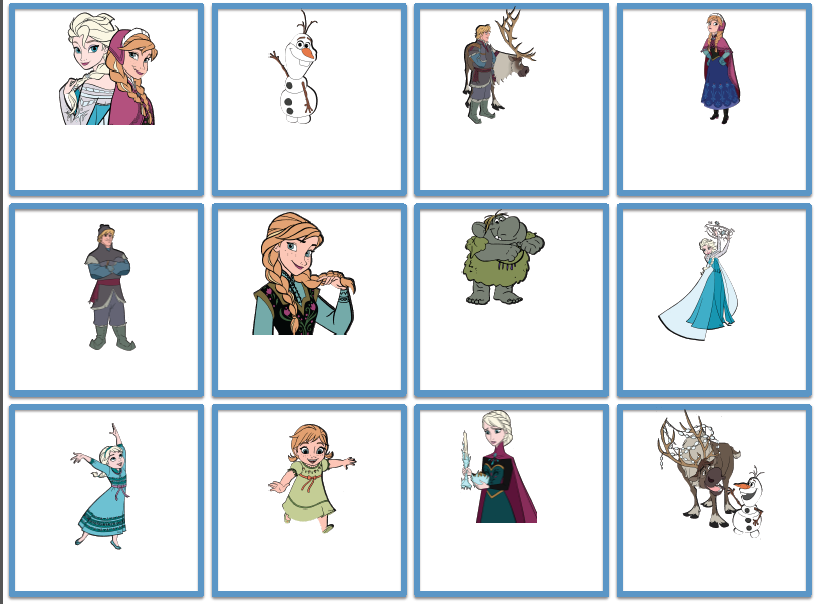 http://www.teacherspayteachers.com/Product/Frozen-Themed-Blank-Cards-1230704