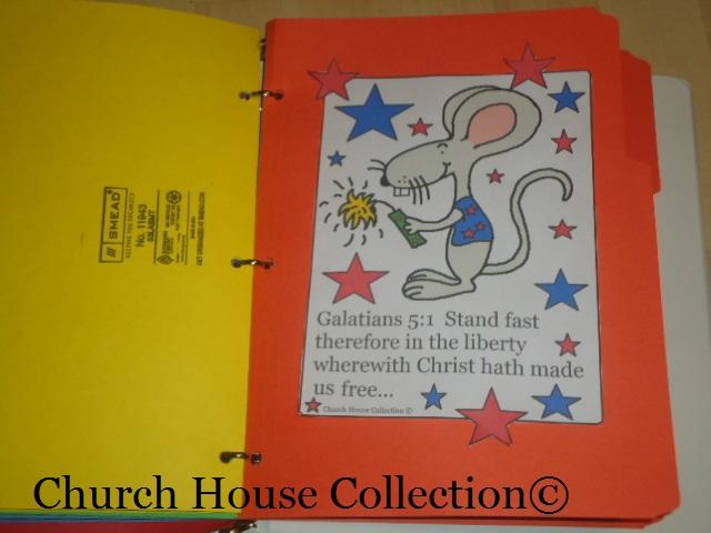Fourth of July Sunday School Crafts