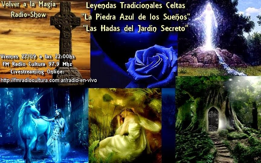 """Leyendas Tradicionales Celtas """"La Piedra Azul de los Sueños"""" """"Las Hadas del Jardin Secreto"""""""