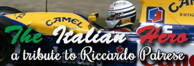 The Italian Hero - a tribute to former F1 driver Riccardo Patrese