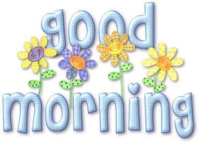 Selamat pagi sayang... aku bisa bayangkan bagaimana indahnya hidupku