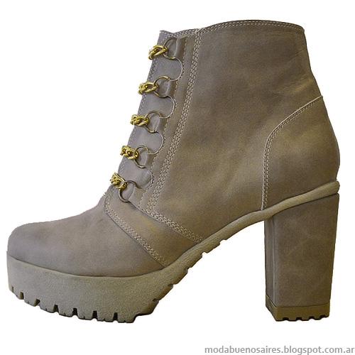 Botas otoño invierno 2014 Stella Maris zapatos invierno 2014.