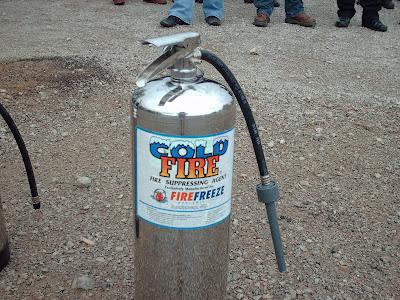 Cold Fire Extinguisher Cold Fire Extinguishers Are