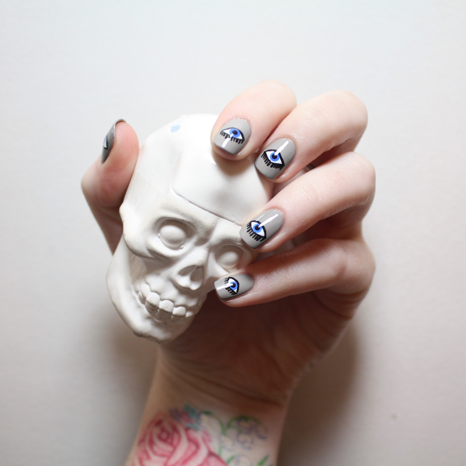 Beauty School Dropouts: Evil Eye Manicure