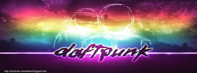 Couverture facebook daft punk HD
