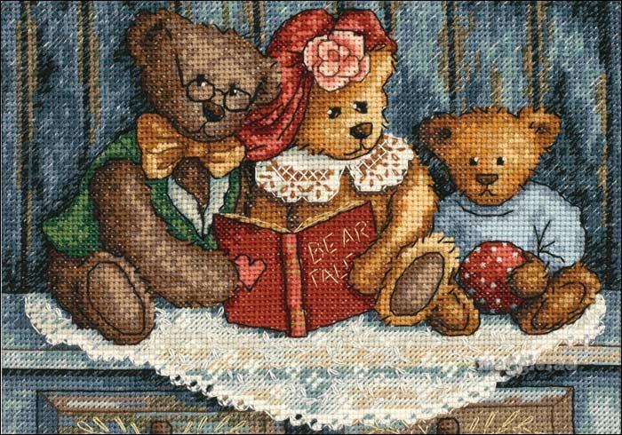 Медведи вышивка приметы 55