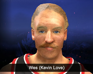NBA 2K14 Wes (Kevin Love) Cyberface Mod