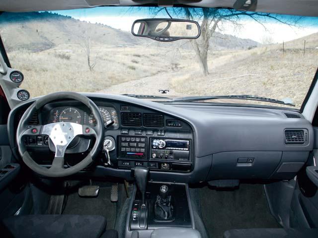 Fast Cars Online Toyota Land Cruiser Interior