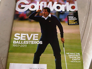 Golf World cover Seve's death