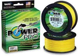 Power Pro Multifilamentos.