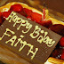 Happy 1st year Birthday My Faith